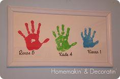 Cute Hand Art... - The Crafty Mummy