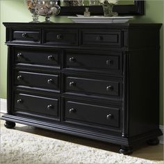 Black Baby Dresser   Best Black Dresser   Pinterest   Baby dresser ...