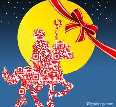 QR Code di Sinterklaas. Il qr code indirizza al sito per acquisti on-line anche in previsione del Natale 2012 . Sinterklaas QR code