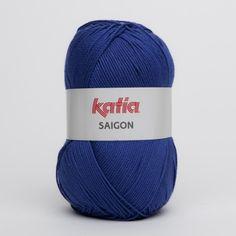 Katia Saigon color azul fuerte