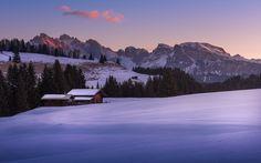 The Awakening. Dolomites, Italy. #alpedisiusi #dolomiti #winter #white #whitelandscape #stillness #dolomites #landscape #landscapephotography #mountains #snow #trees #ice #italy #fineart #fineartphotography #marcoromani #italia #marcoromaniphotography #mountainhuts #outdoorphotography #travel #Nikon #Feisol #Nikkor #sunrise