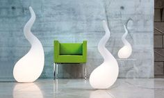 Creative and fun collection of alien-inspired lamps