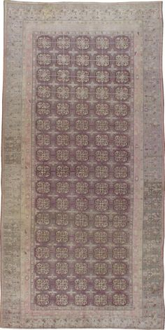 Antique Khotan Gallery Carpet, No. 20211 - via galerieshabab.com