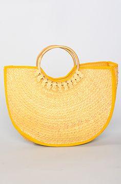 *Vintage Boutique The Marigold Straw Bag : Karmaloop.com - Global Concrete Culture