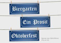 Complete Oktoberfest Party Printable Decorations Oktoberfest
