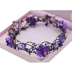 Flower Hair Accessories, Hair Accessories For Women, Circlet, Floral Headbands, Bridal Tiara, Flower Crown, Wedding Designs, Custom Jewelry, Diy Wedding
