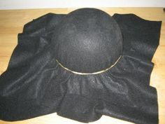 Homemade Play for Kids: How to make Jack Sparrow's tricorn pirate hat.