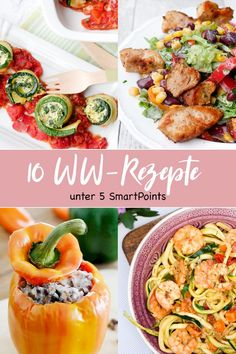 Meine 10 liebsten WW-Rezepte unter 5 SmartPoints My 10 favorite WW recipes among 5 SmartPoints. Perfect for a quick and point-friendly dinner – a food … Weight Loss Meals, Healthy Recipes For Weight Loss, Weight Watchers Meals, Ww Recipes, Low Carb Recipes, Recipes Dinner, Quick Recipes, Easy Detox Cleanse, A Food