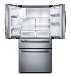 Jenn aircabinet depth french door refrigerator with internal dispenser - Jenn Air 69 Counter Depth French Door Refrigerator With
