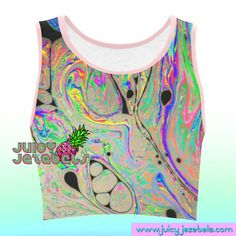 5916b498191bfa MARBLE MADNESS Music Festival Clothing Rave Outfit Festival Crop Top Rave  Top Ibiza Style Hippie Clo