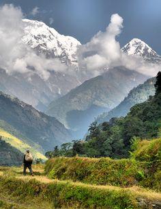 Annapurna, Himalayas, Nepal