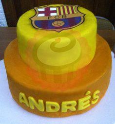 FC Barcelona Cake. #Fondant #PopCake #Popcaketizate