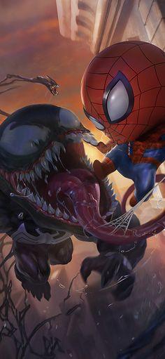 Marvel Comics, Chibi Marvel, Marvel Art, Deadpool Chibi, Marvel Memes, Chibi Wallpaper, Deadpool Wallpaper, Avengers Wallpaper, Spiderman 3 Wallpaper