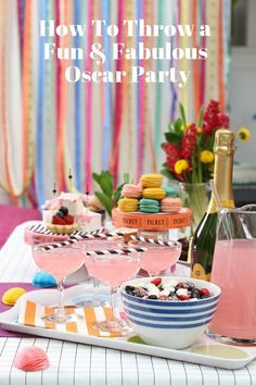 How To Throw a Fun & Fabulous Oscar Party — Academy Awards, February 22nd, 2015 | Apartment Therapy
