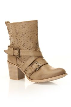 Bucco Kris Boots In Taupe - Beyond the Rack