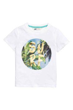 Tričko spotlačou | H&M