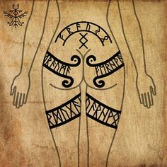 Viking Tattoo Symbol, Rune Tattoo, Norse Tattoo, Celtic Tattoos, Viking Tattoos, Tribal Tattoos, Indian Tattoos, Norse Runes, Viking Symbols