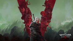 The Witcher (@witchergame) / Twitter Witcher Art, Witcher 3 Wild Hunt, The Witcher 3, Geralt Of Rivia, Ciri, Wallpaper Gallery, Fantasy World, Mobile Wallpaper, Game Art