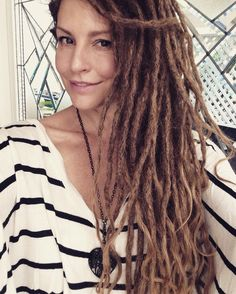2 1/2 months in and my dreadlocks are starting to shrink a little....which is making them so much easier to handle!!!❤️