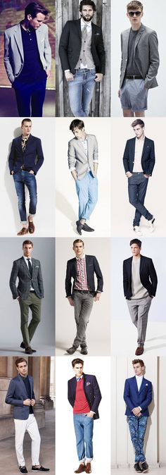 Men's Separates - Using Your Suit Jackets Individually