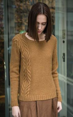 Parkview Pullover Knitting Pattern