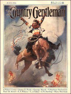 The Country Gentleman Magazine, July 1926. N.C. Wyeth