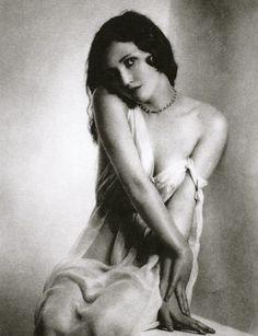 """Gelatin silver print entitled, """"Myrdith."""" 1930s."""