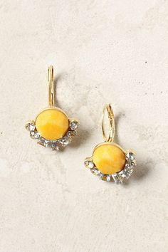 Impero Drops -Anthropologie  Remind me of lemon bars with a sugary crust.   Perfect way to incorporate yellow without feeling like a bumble bee or caution sign.