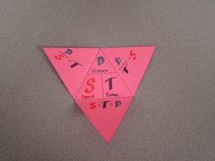 Bond with James: Three-Variable Formula Triangle Teaching Chemistry, Teaching Math, Teaching Ideas, Math Teacher, Teaching Tools, Teacher Stuff, Interactive Math Journals, Science Notebooks, Interactive Learning