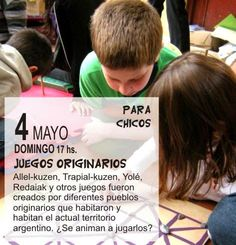 Juegos de los pueblos originarios. Museo Ambrosetti, Buenos Aires