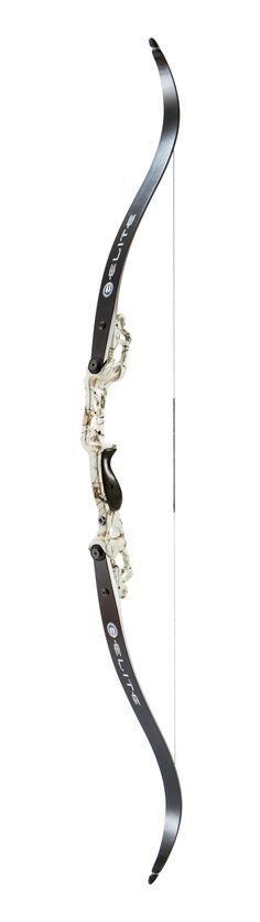 "Elite Archery Origin bow in ""Realtree AP Snow"""