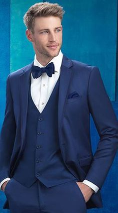 Are you looking to stand out as the groom? Our Cobalt Blue Tuxedo by Allure Men is a stunning option! A Slim Fit look in our soft, lightweight, Super 130's wool and flat front trousers...absolutely stunning! http://tuxedojunction.com/ Stop in today: 6600 Topanga Canyon Blvd, STE 2054A  Canoga Park, California 91303 #tuxedojunction #tuxedo #wedding #weddingtuxedo