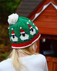 The only problem with this adorable hat is getting stopped and squealed at so many times that you won't get your Christmas shopping finished in time!