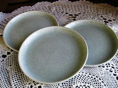 Vintage Brusche Bread and Butter Plates/ by TwoCousinsCollection