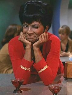 Lt. Uhura | This is my face to my Trekkie students every time I make a Star Trek reference. Because we're awesome.