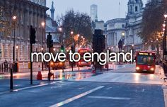 Move to England