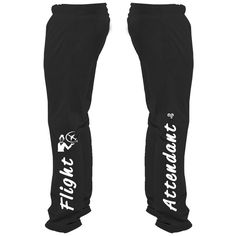 Introducing the world's most stylish sweatpants for any flight attendant. Let the world know being a flight attendant rocks! 100% Satisfaction Guaranteed-if you don't absolutely love your purchase, we