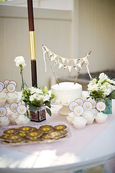 Vintage Lion 1st Birthday Party - Kara's Party Ideas - The Place for All Things Party
