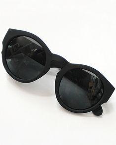 f4c82fa28 Black Matte Sunglasses Clothing Staples, Clothing Items, Round Frame  Sunglasses, Black Sunglasses,