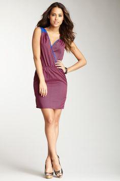 Renee C  V-Neck Dress