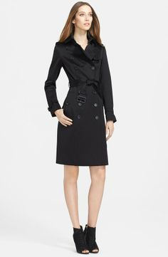 Double Breasted Trench Coat Burberry Prorsum