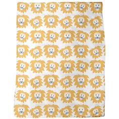 Uneekee Lion Heads Blanket