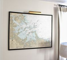 Mount And Hang Large Maps With Ease Decorative Crafts And Crafty - Large decorative maps