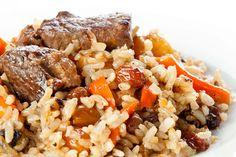Leckeres Plow mit Reis und Karotten  Heute gibt es mal wieder Plov. Das russisch, usbekische Gericht lässt sich schnell und einfach zubereiten, ist sehr schmackhaft und vor allem bei Kindern sehr beliebt.  http://einfach-schnell-gesund-kochen.de/leckeres-plow-mit-reis-und-karotten/
