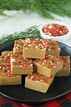 Gingerbread Fudge #ChristmasSweetsWeek