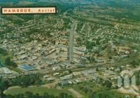 """<span class=""""caption-caption"""">Nambour</span>, c1966. <br />Postcard by <span class=""""caption-publisher"""">Bernard Kuskopf</span>, collection of <span class=""""caption-contributor"""">Centre for the Government of Queensland</span>."""