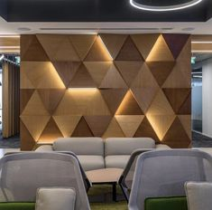 Bespoke Feature Wall Cladding Panels That Give Rooms Pizzazz Wooden Wall Panels, 3d Wall Panels, Wooden Walls, Wall Panel Design, Wooden Panel Design, Wooden Wall Cladding, Wooden Ceiling Design, Decorative Wall Panels, Wooden Art