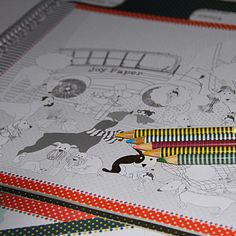 Jogo americano de colorir e se divertir. Aprenda a desenhar raças de cachorro de forma facil e gostosa! www.joypaper.com.br