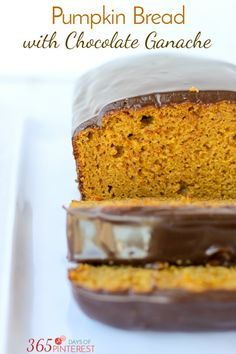Welcome fall with a mild pumpkin bread made from scratch and covered with a…