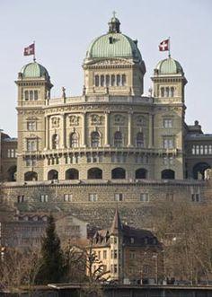 Bern - Switzerland (Bundeshaus/Federal Parliament)